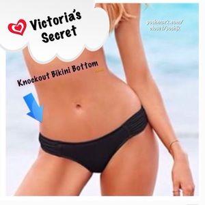 NWT Victoria's Secret Bikini Bottom Black